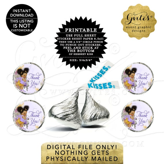 """Kiss Stickers Labels For Party Favors 