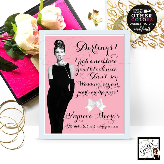 """Don't Say Wedding Bridal Shower Game Sign Personalized With Bride's Name and Date. 8x10"""" DIY, Digital File Only!"""