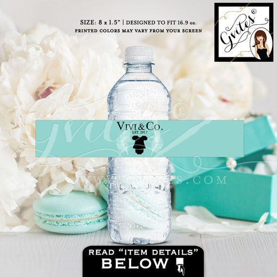 Baby and Co Water Bottle Labels For Party Favors