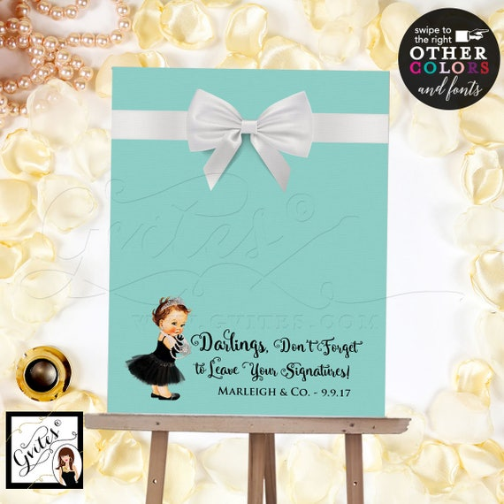 Baby and Co Baby Shower Guest Book Alternative