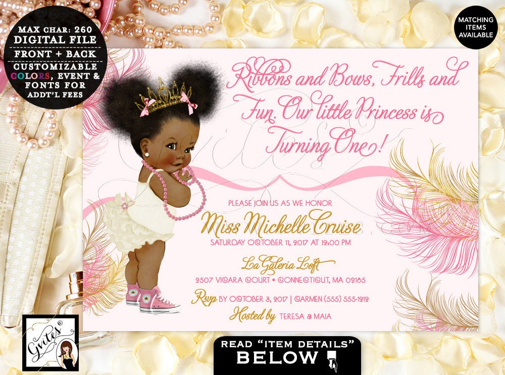 9e003730a4b77 Pink and Gold First Birthday Welcome Signs / Ethnic Baby Princess ...
