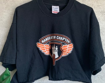 74a3fd9ef17 Vintage Harley Davidson Motorcycles Graphic Cropped T-Shirt