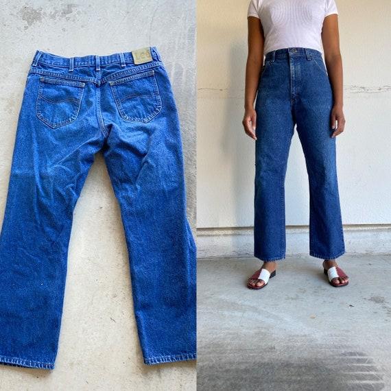 Vintage 1990s Lee High Waist Medium Wash Mom Jeans