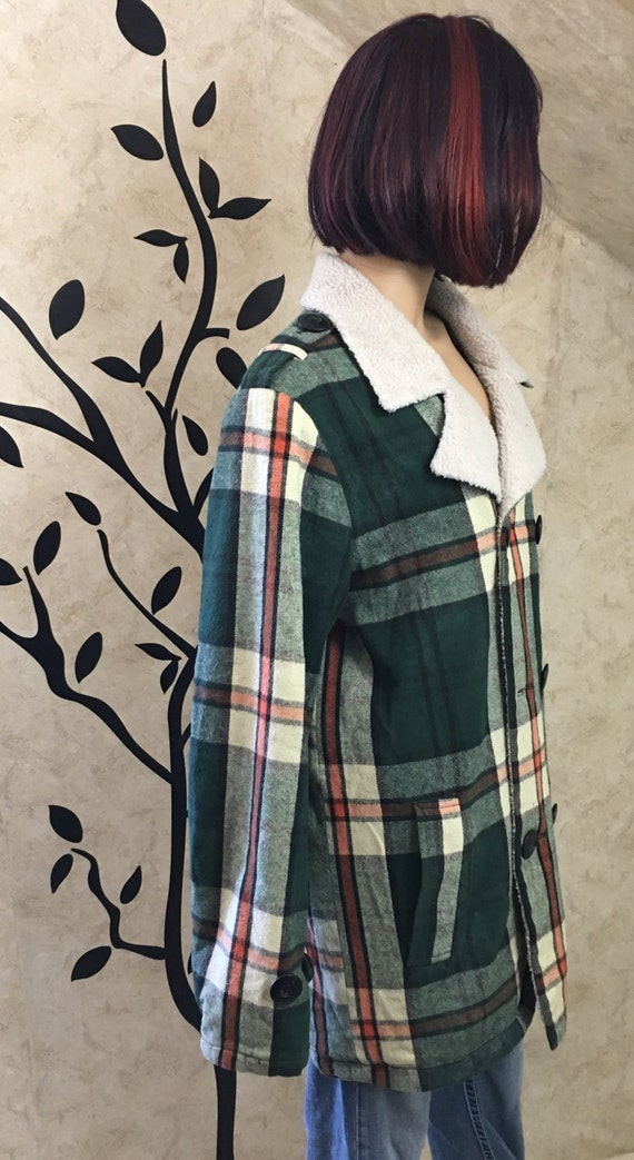 Plaid flannel, Insulated flannel, Warm flannel, G… - image 3