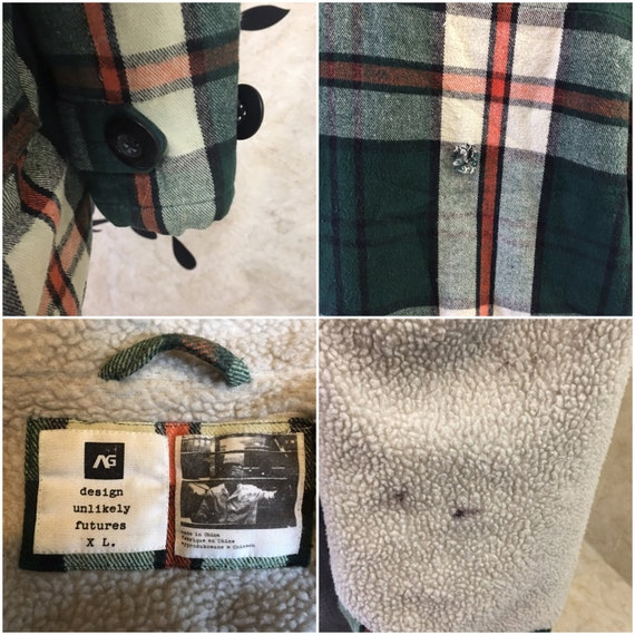 Plaid flannel, Insulated flannel, Warm flannel, G… - image 5