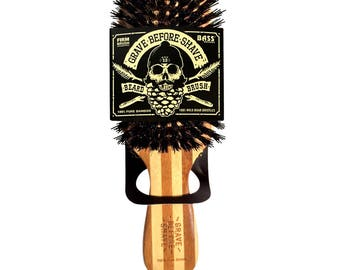 Official GRAVE BEFORE SHAVE™  Beard Brush