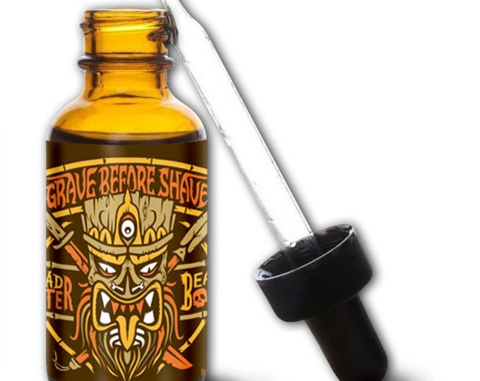 GRAVE BEFORE SHAVE Head Hunter Beard Oil