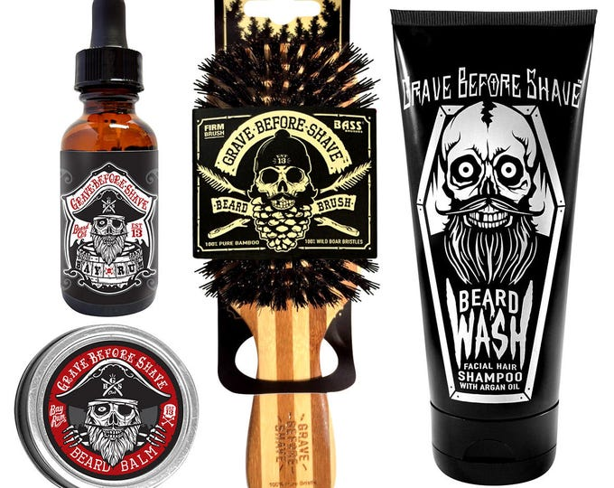Grave Before Shave Beard Care Packs