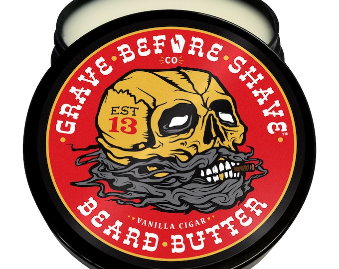 Grave Before Shave Beard Butter (Cigar Blend)