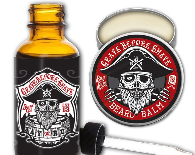 GBS Bay Rum Beard Pack