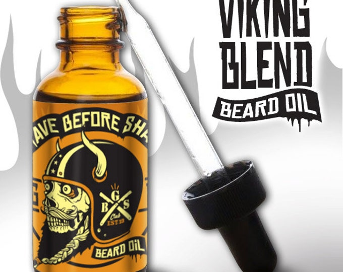 GRAVE BEFORE SHAVE Viking Blend Beard Oil