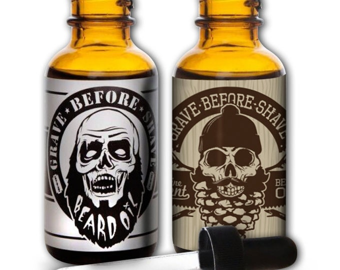 GRAVE BEFORE SHAVE Beard Oil Duel Pack