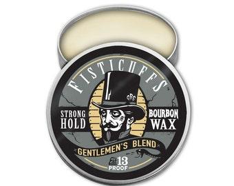 Fisticuffs Gentlemen's Blend Strong Hold Mustache Wax 1 OZ. Tin