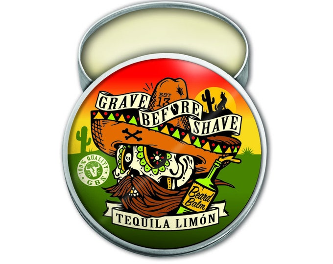 GRAVE BEFORE SHAVE™ Tequila Limon Blend Beard Balm