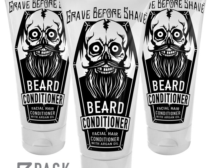 Grave Before Shave™  Beard Conditioner 3 Pack