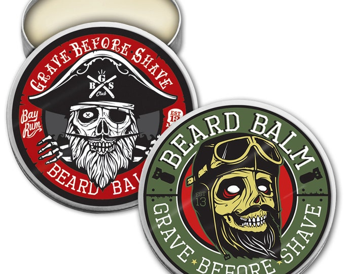 GRAVE BEFORE SHAVE Beard Balm Dual Pack