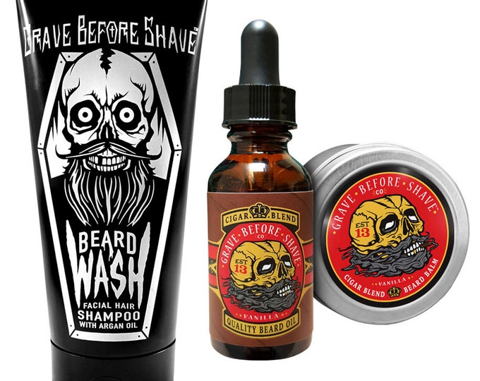 "Grave Before Shave Beard Care ""Refill Pack"""