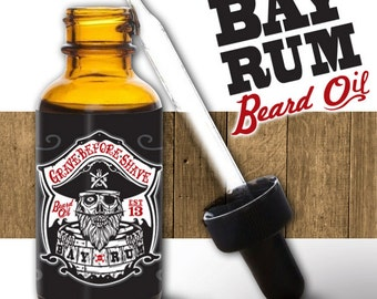 GRAVE BEFORE SHAVE Bay Rum Beard Oil