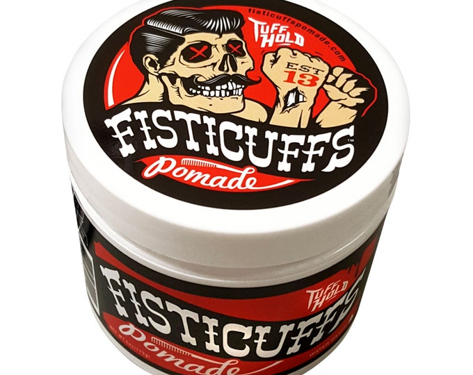 "Fisticuffs ""TUFF HOLD"" Pomade 4oz. Jar"