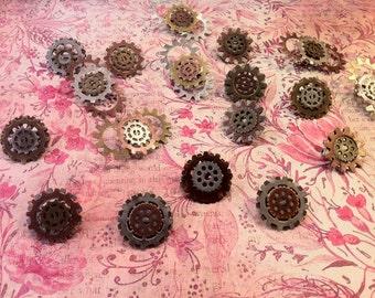Steampunk pins-a fun way to add a little flair to a costume or mundane wear