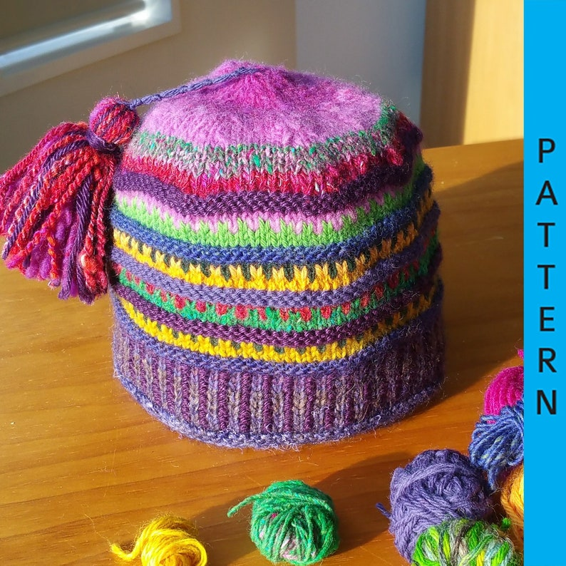 Pattern: Scrap-Buster Hat image 0