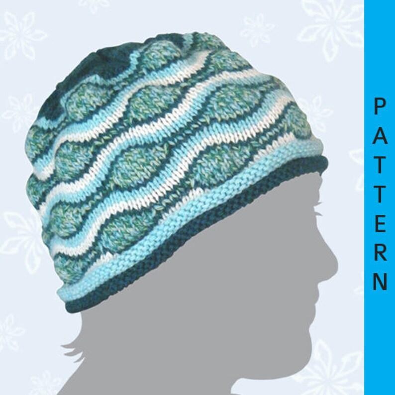 Pattern: Southern Ocean Hat image 0