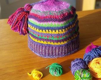 Pattern: Scrap-Buster Hat