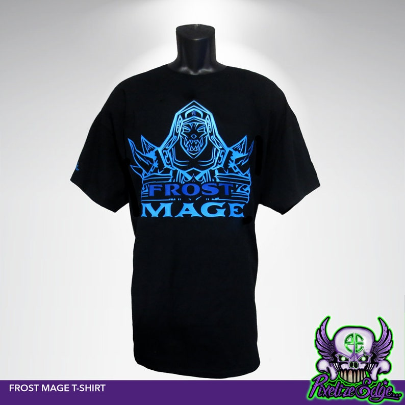 Frost Mage T-shirt, World of Warcraft Inspired, Wow DPS t-shirt