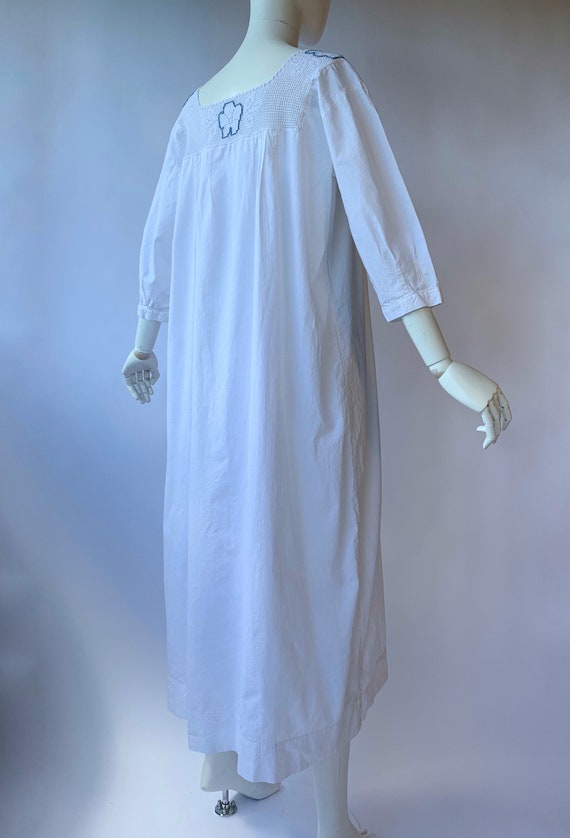 Antique Edwardian cotton dress boho chic - image 3