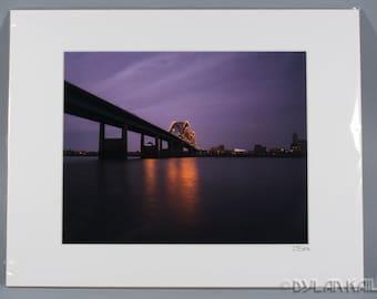 "Bridge #1 - 8x10"" color photo print"