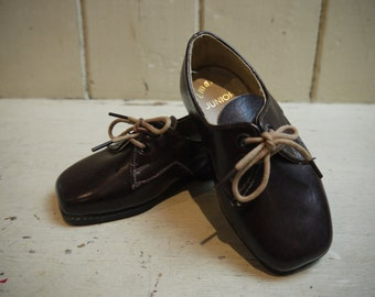 Vintage Pair of Leather Child's Shoes