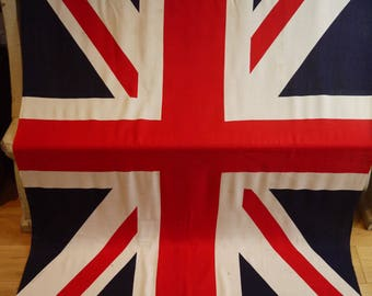 Vintage Union Jack Flag - Decorative Union Jack - British Flag - Vintage Flag -British Made Circa 1930s