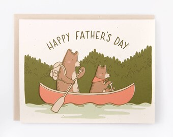 Father's Day Bear Card for Dad