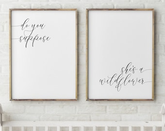 image about Printable Nonograms known as customized gentle script nursery status printable calligraphy reputation