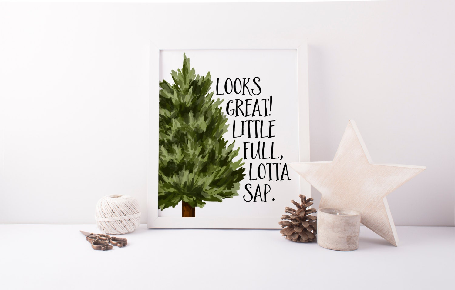 Christmas Grinch Quote 8 X 10 Digital Print Instant By: Little Full Lotta Sap Printable Christmas Vacation Quote