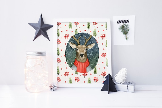 image 0 - Christmas Deer Decor