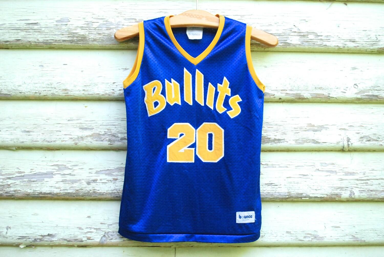 90 singulet s basketball singulet 90 Hip Hop Top bleu Vintage maille Tee balles Sportswear Hipster balles Clubkid débardeur Grunge Vtg des années 1990 taille XS-S 760a17