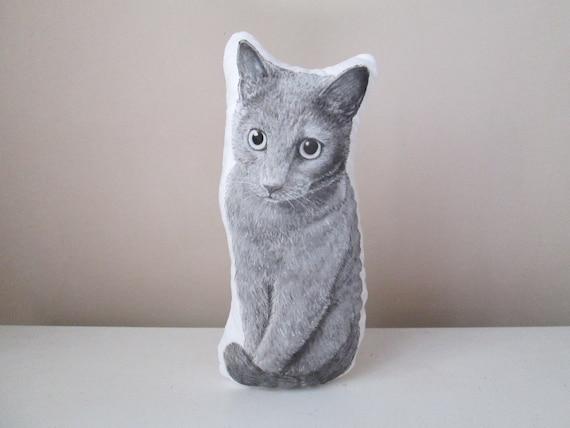 Cat Plushie Soft Stuffed Animal Pet Cuddly Toy Realistic Hand Etsy