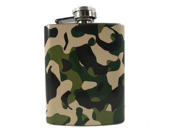 Camouflage Flask