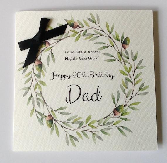Personalised Birthday Card Dad Husband Grandad Brother