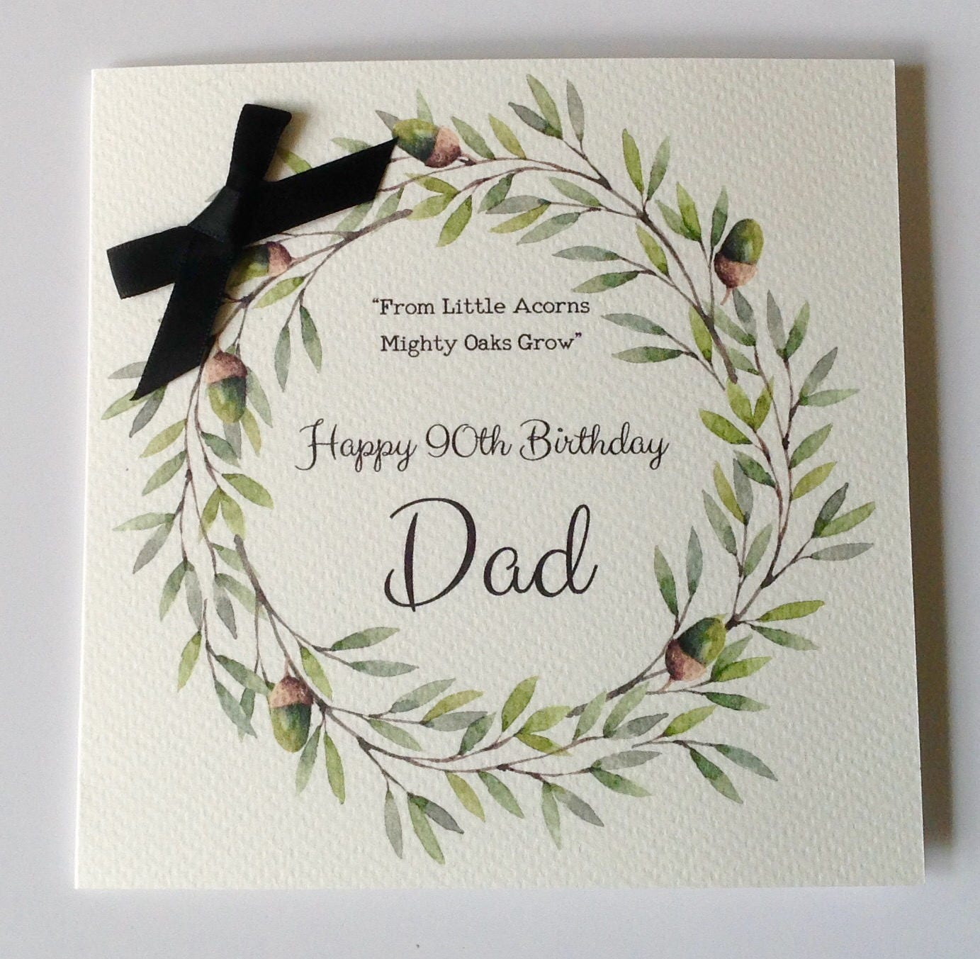 Personalised Birthday Card Dad Husband Grandad Brother