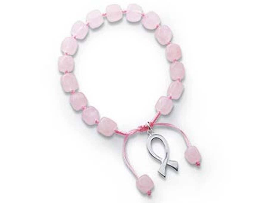 5f0f7612cd029 Breast Cancer Awareness Adjustable Bracelet BR10314 by Lois | Etsy