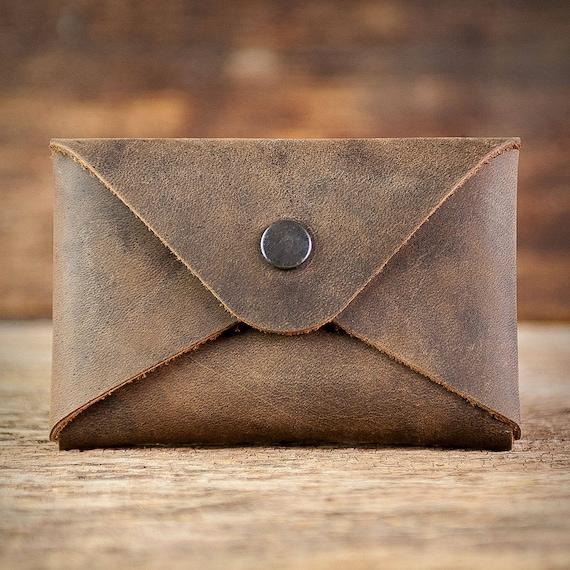 Visitenkartenetui Leder Etui Für Visitenkarten Business Card Holder Kartenetui Case Braun Blau Grün Rot Beige Grau Geschenk Gift For Men
