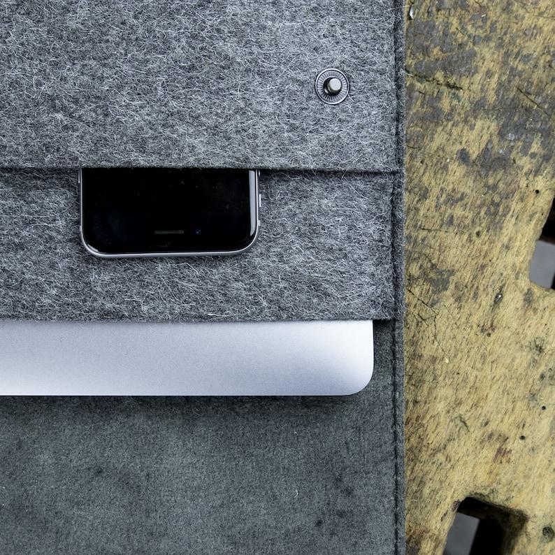 ebaea7834f1fa Surface Book 2 Pro 6 Laptop Go Case Tasche Leder Filz