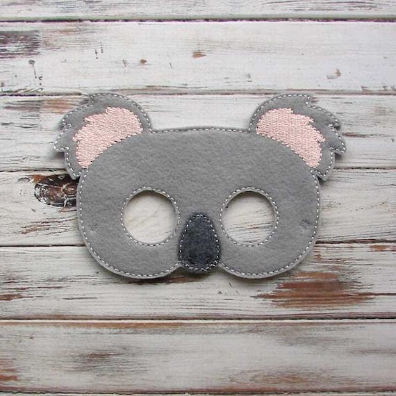Koala Bear Mask Australian Animal Pretend Play Dress Up Halloween Costume
