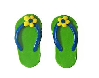 c75297783 Flip Flop Magnets - Sandal Magnets - Summer Magnet - Beach Magnet - Beach  House Decor - Summer Decoration - Fridge Magnets