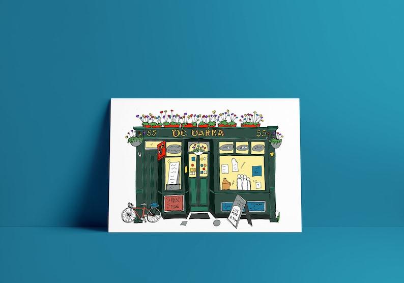De Barra's Folk Club West Cork A5 print image 0