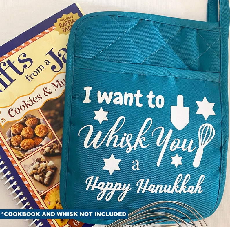 I want to whisk you a Happy Hanukkah pot holder. Excellent image 0