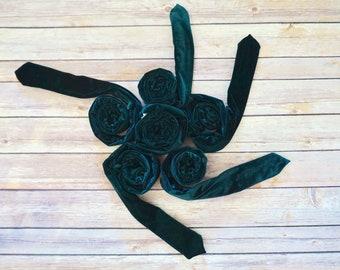 BedLounge - Regular - Hypoallergenic - Green Cotton Custom Made Men's Velvet N