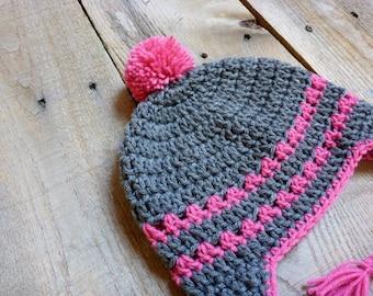 Lacey Ear Flap Hat